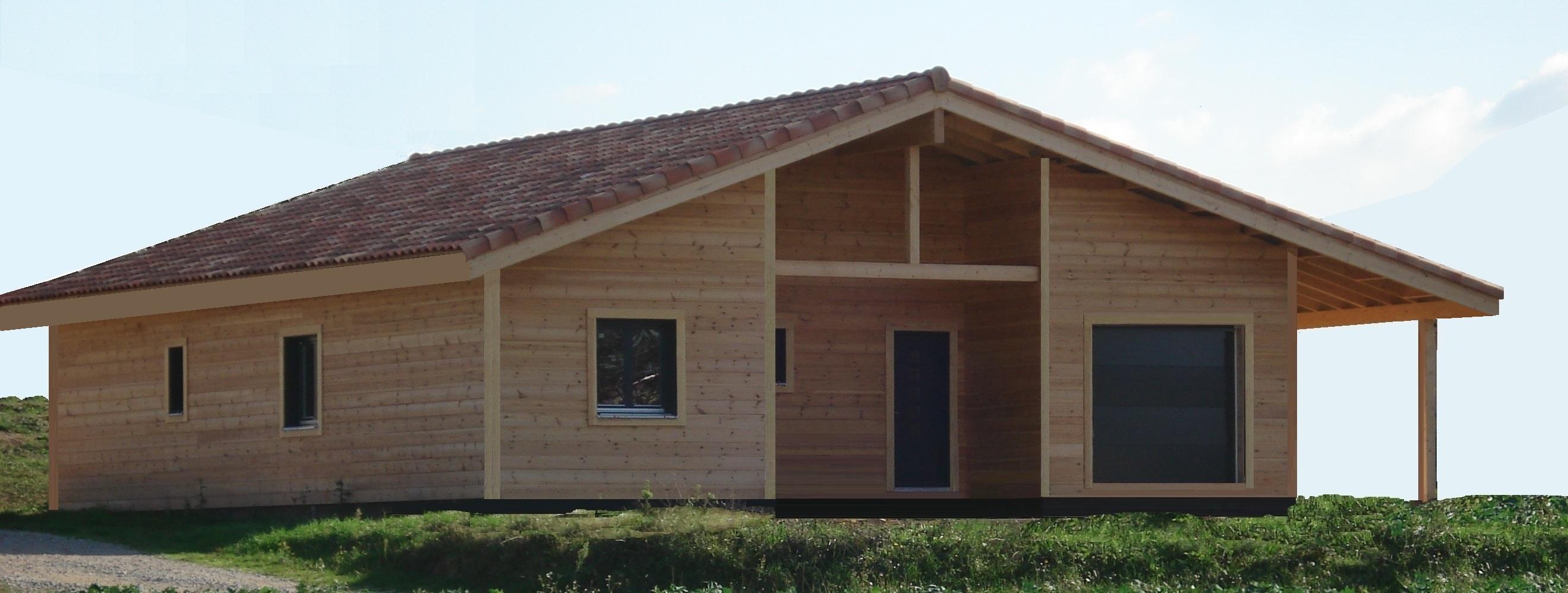 Maison Bois Chalet